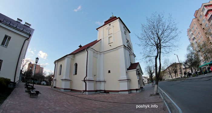 karla baromeia kostel pinsk