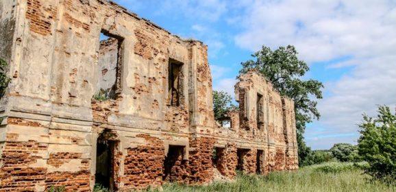 Усадьба Радзивиллов в деревне Жирмуны