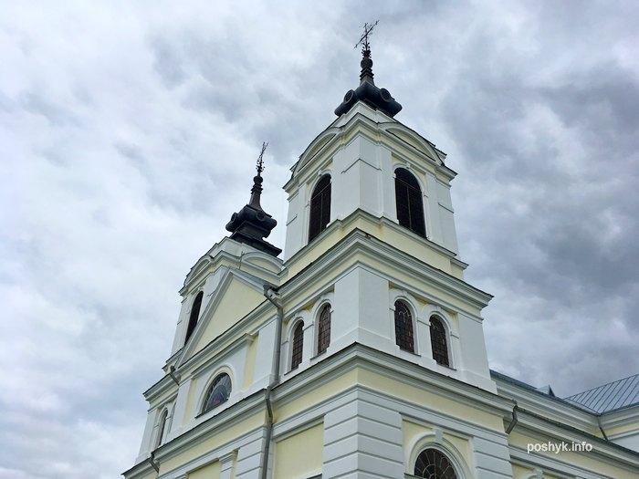 kostel v belarusi