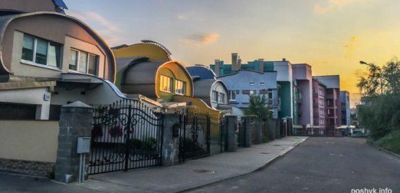 Дома на Одинцова — необычные места в Минске