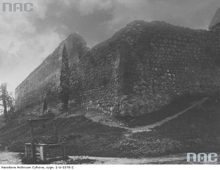 лидский замок старое фото