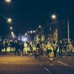 Ночные движения на закрытие фестиваля Vulica Brasil