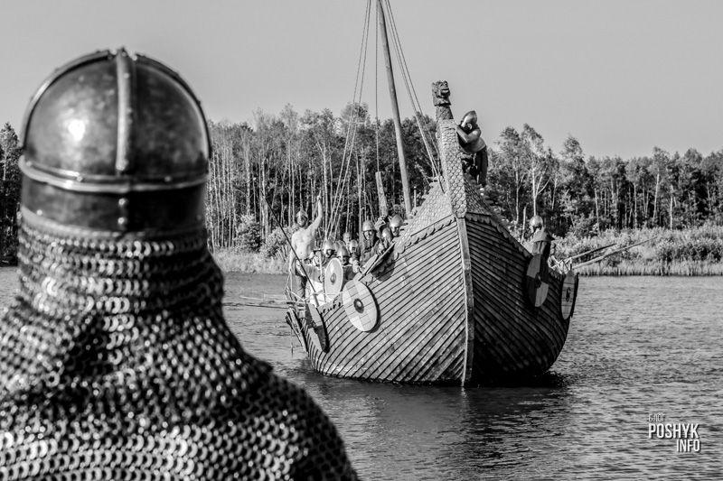 фестиваль Путь Викингов 2018 драккар