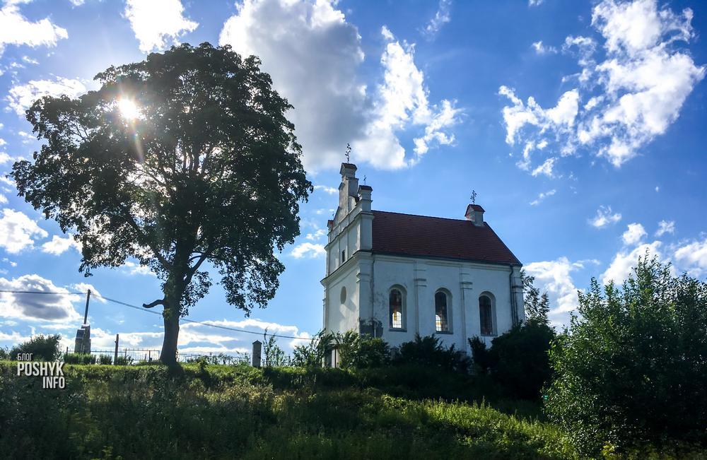 Костел в Вороне