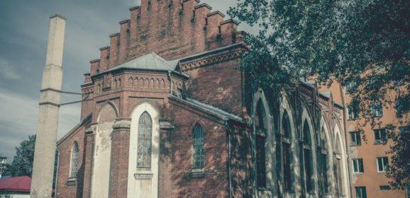 Неоготический костёл в Бобруйске
