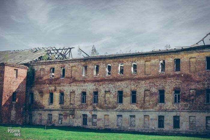 Заброшенные казармы в Бобруйске