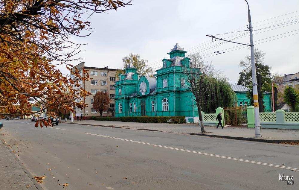 Необычный дом купчихи Кацнельсон в Бобруйске
