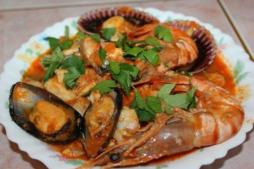 национальные блюда стран Каччукко