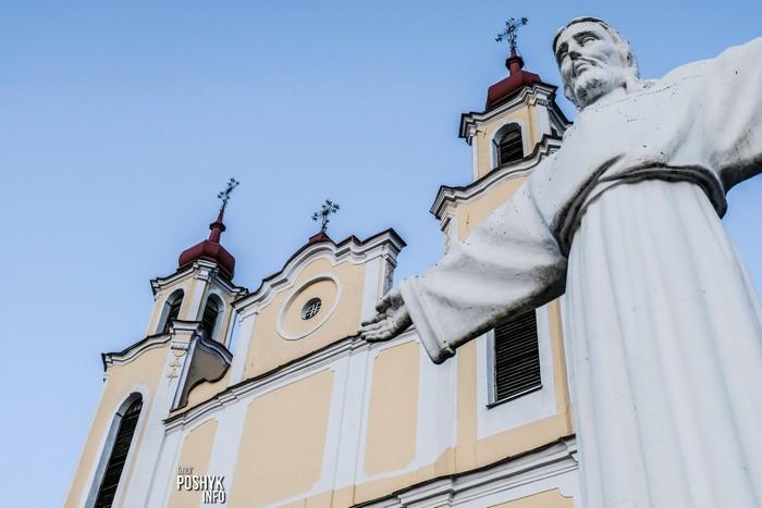 статуя христа в ивье