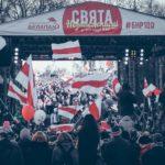 В Минске прошел большой концерт на День Воли.