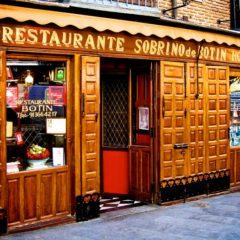 Sobrino de Botín. Где находится самый старый ресторан в мире?