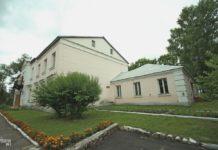 Бывший дворец Хрептовичей в городском поселке Бешенковичи