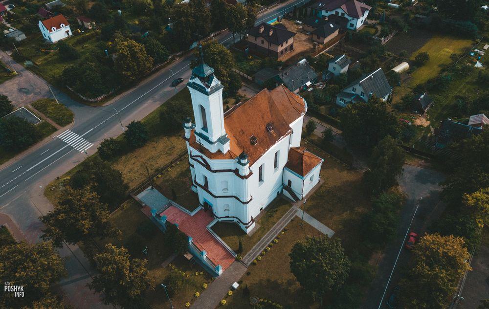 Костел в городе Заславль