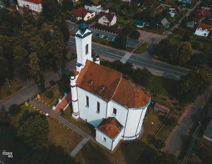 Заславль костел Беларусь
