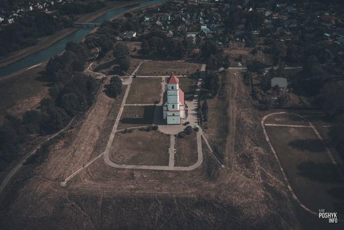 Церковь в городе Заславль