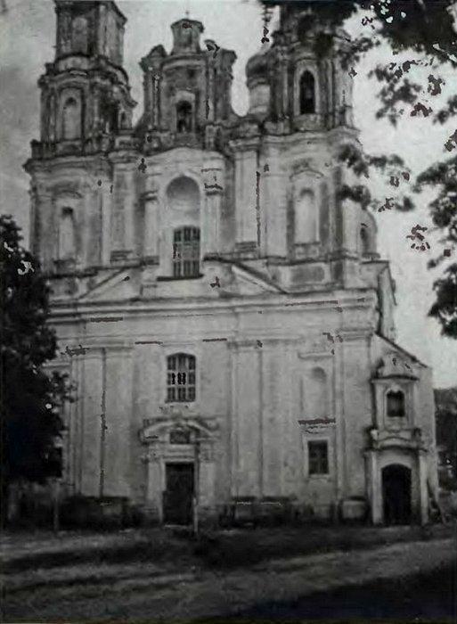 монастырь кармелитов глубокое