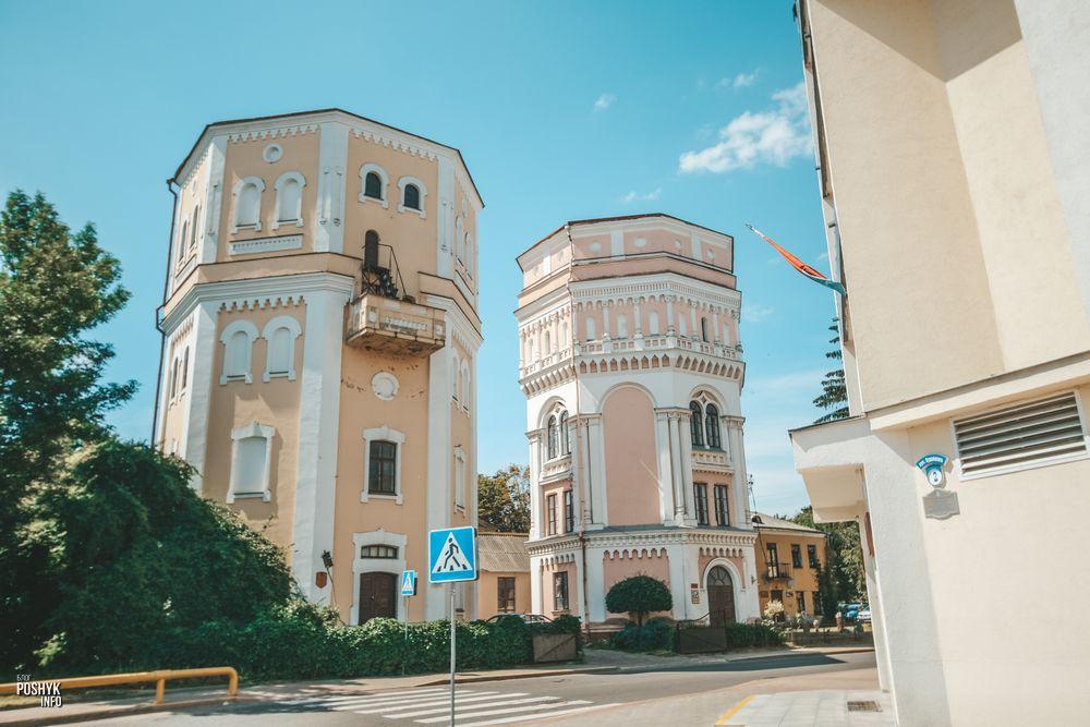 Бася и Кася водонапорные башни в Гродно