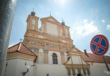 Бригитский костел и монастырь в Гродно