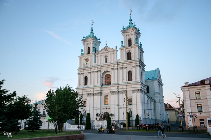 Главная достопримечательность Гродно костел Франциска Ксаверия
