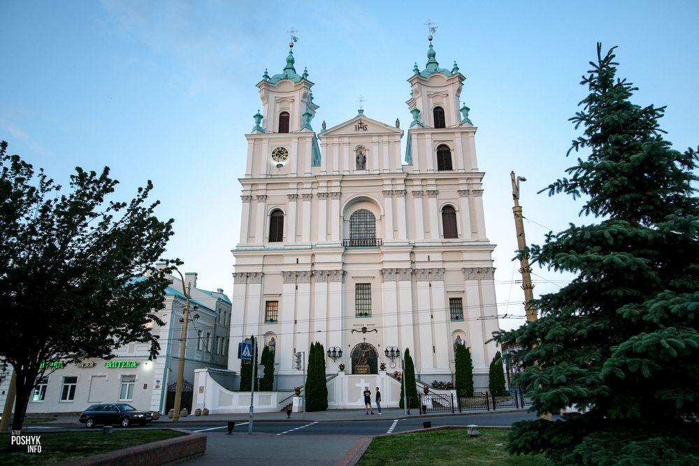 Главная достопримечательность Гродно - костел Франциска Ксаверия