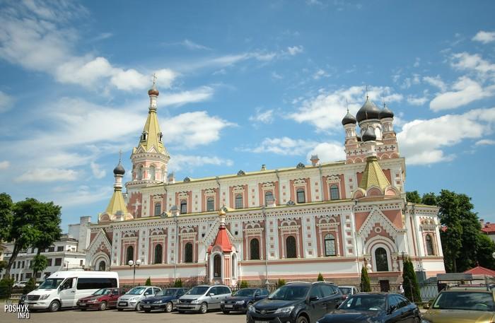 Красивые церкви Беларуси Гродно