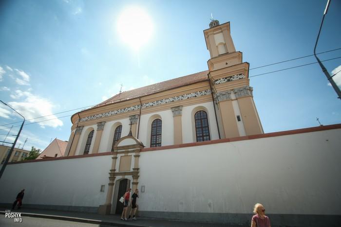 Костел в центре Гродно