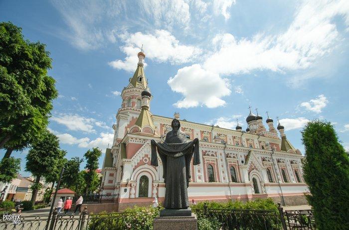 Покровский собор в городе Гродно
