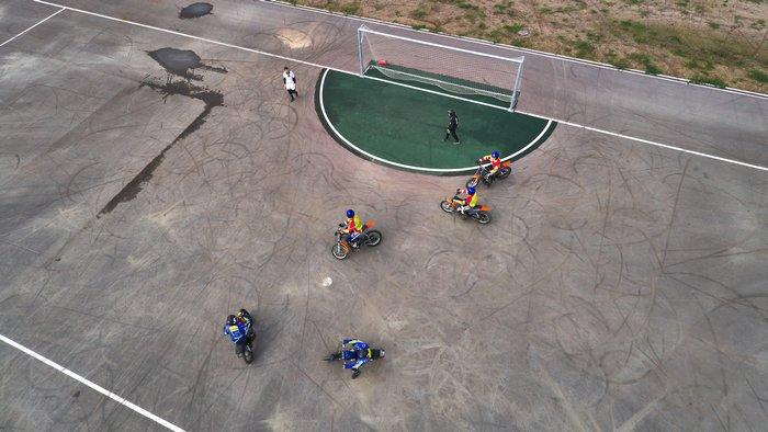стадион для мотобола