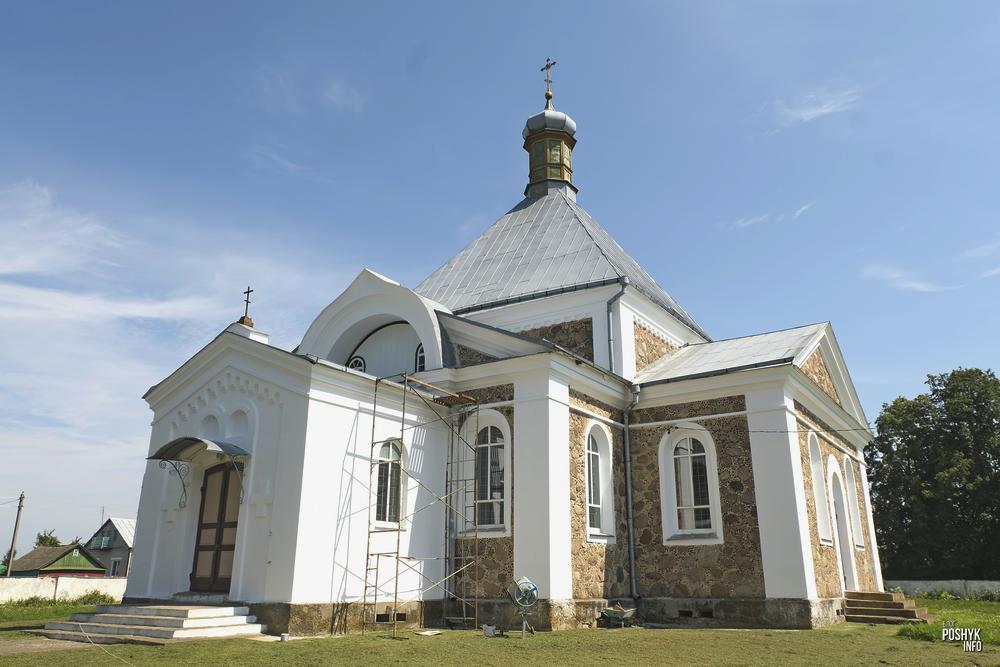 Вознесенская церковь в Еремичах, Гродненская область