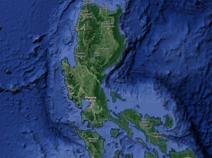 филиппины лусон