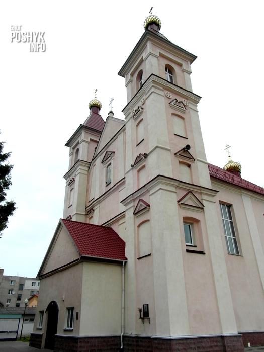 храм в клецке
