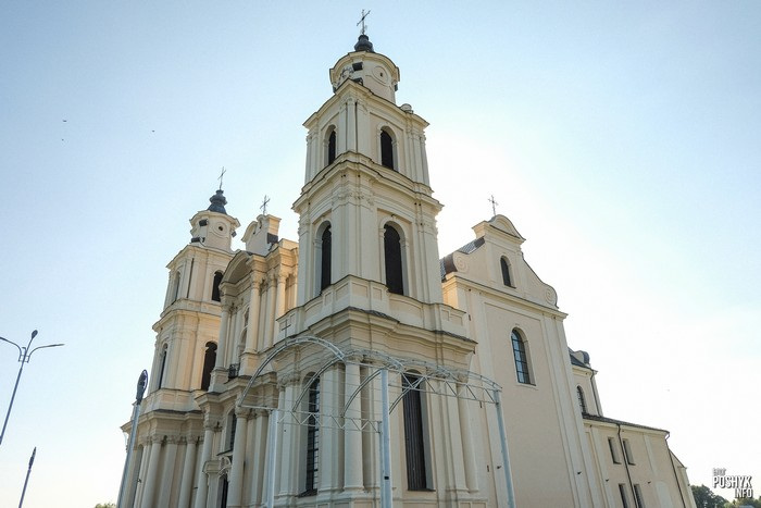 Костел в Будславе