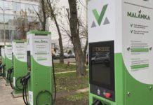зарядные комплексы для электромобилей в Беларуси