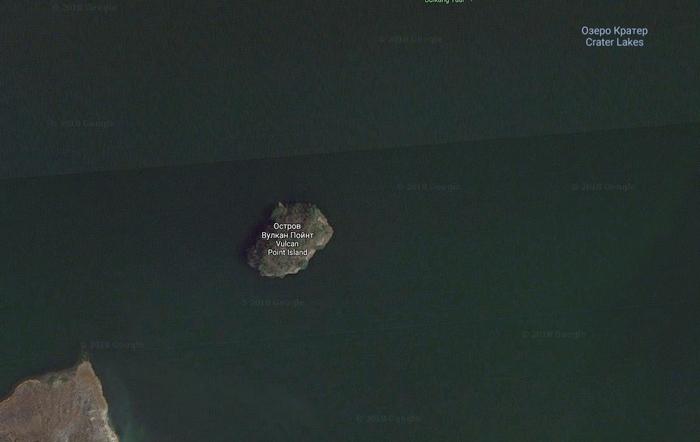 остров матрешка вулкан поинт