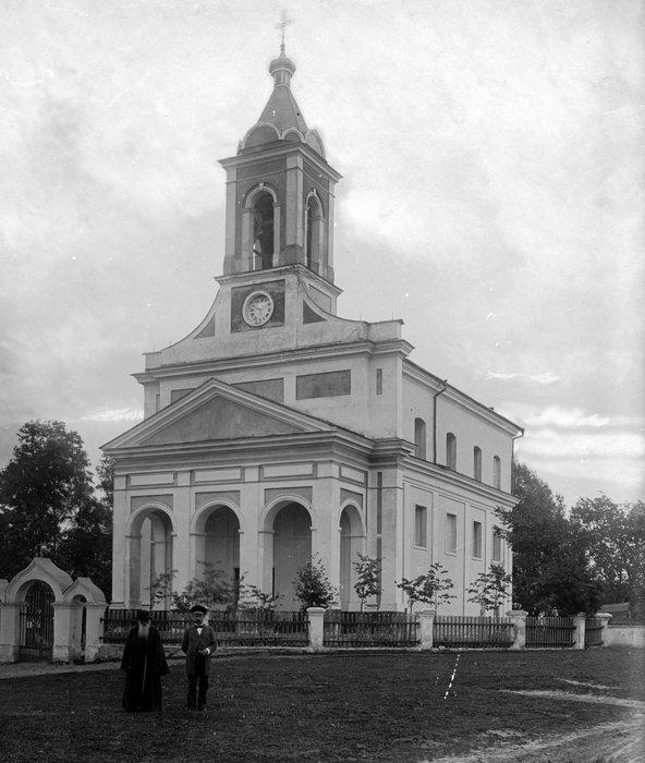 Церковь в агрогородке Щорсы