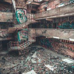 Заброшенный спорт комплекс на Могилевской