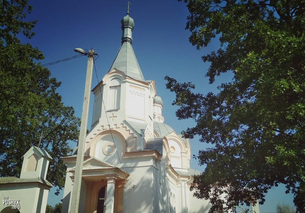Троицкая церковь в Долгиново