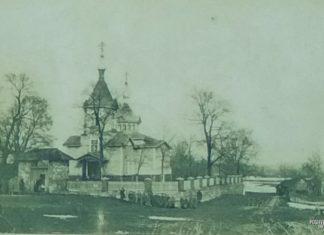 Церковь в деревне Вязынь