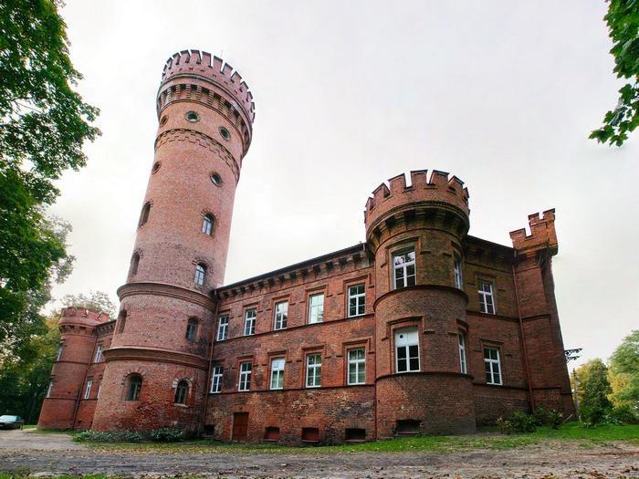 замок раудонварис