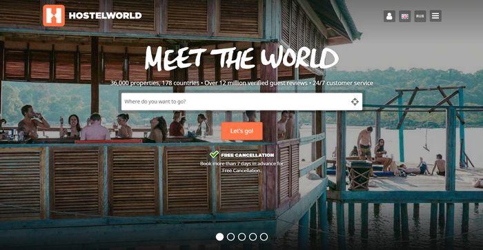 хостелы по всему миру