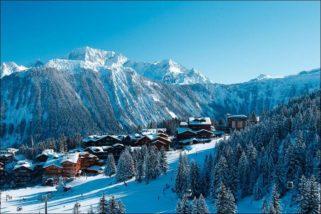 Горнолыжный курорт Куршевель в Альпах