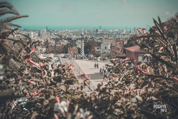 Как добраться до парка Гуэль в Барселоне