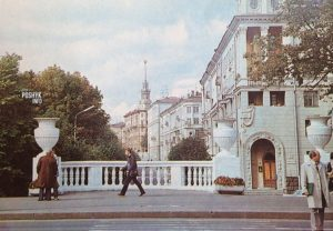 площадь победы старое фото
