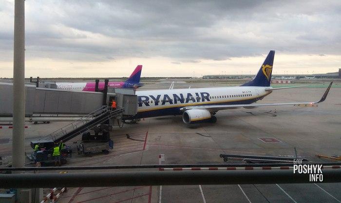 самолеты raynair