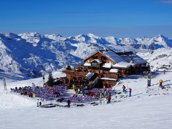 горнолыжный курорт франция