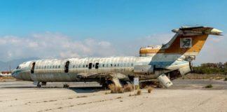 заброшенный аэропорт