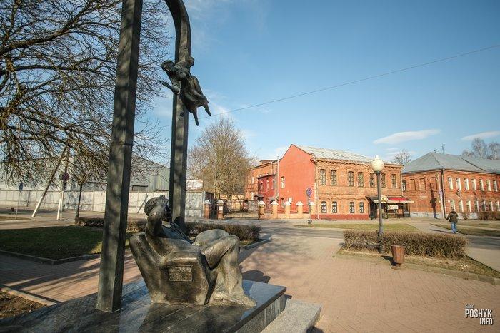 Памятник Шагалу в Витебске