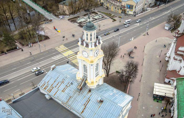 Ратуша в городе Витебск