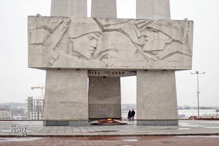 памятник три штыка витебск