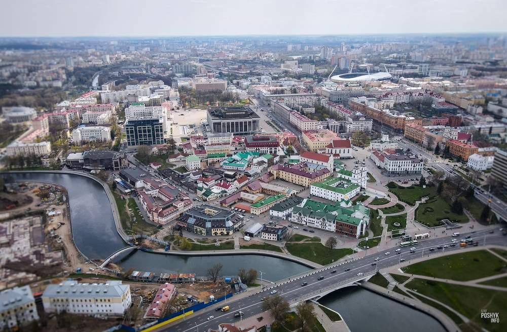 Верхний город Минск основные достопримечательности